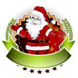 您的圣诞老人动画片设计 库存图片