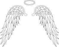 您的天使翼设计 免版税库存照片