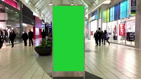 您的广告的绿色广告牌