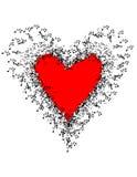 您的心脏音乐  库存图片