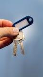 您的房子钥匙 免版税库存图片