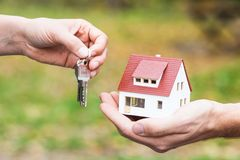 您的房屋贷款 免版税库存图片