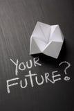 您的未来概念 库存照片