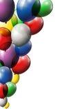 您的气球背景设计 免版税库存照片