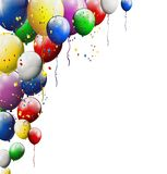 您的气球背景设计 库存图片