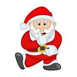 您的设计传染媒介例证的圣诞老人 库存图片