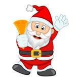 您的设计传染媒介例证的圣诞老人 免版税库存图片