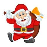 您的设计传染媒介例证的圣诞老人 图库摄影