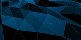 您的设计的抽象多角形背景例证 向量例证