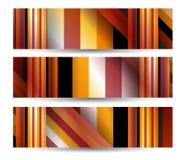 您的设计的抽象横幅 库存例证