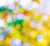 您的设计的抽象背景在金子,绿色和蓝色颜色 库存照片