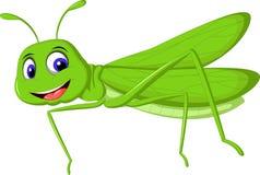 您的逗人喜爱的动画片蝗虫设计 免版税图库摄影
