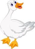 您的逗人喜爱的动画片鸭子设计 库存图片