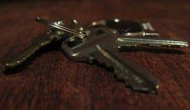 您的钥匙填写空白 免版税库存照片