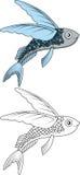 您的飞鱼设计 免版税图库摄影