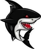 您的鲨鱼动画片设计 免版税库存照片
