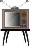 您的经典电视设计 免版税库存图片