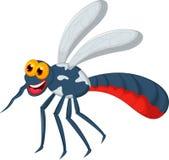 您的滑稽的蚊子动画片设计 向量例证