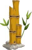 您的黄色竹子设计 皇族释放例证