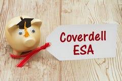 您的Coverdell教育储蓄帐户 库存图片