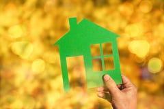您自己的房子梦想  免版税库存照片