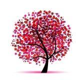 您设计幻想满天星斗的结构树 皇族释放例证