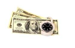 您货币的保障 库存照片