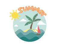 您系列节日快乐的夏天 免版税图库摄影