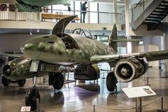 悬挂式滑翔机模型在科学德国博物馆  免版税库存照片