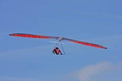 悬挂式滑翔机飞行 库存照片