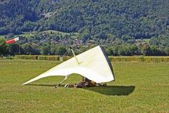 悬挂式滑翔机 图库摄影