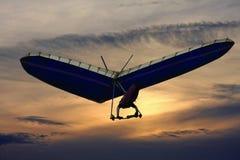 悬挂式滑翔机 免版税图库摄影