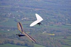 悬挂式滑翔机 免版税库存照片