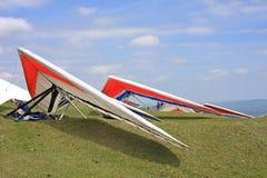 悬挂式滑翔机 库存照片