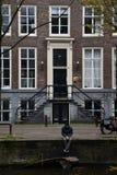 悲伤在阿姆斯特丹 免版税库存图片