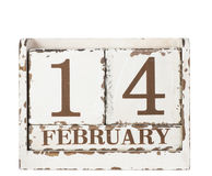 情人节。 2月14日。 库存图片