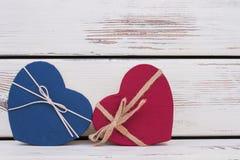 情人节五颜六色的礼物盒 库存图片