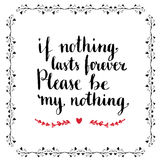 情人节卡片或海报 是概念我的华伦泰 皇族释放例证