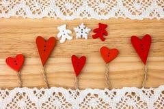 情人节明信片 婚姻 库存照片