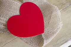 情人节的心脏 图库摄影