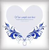 情人节背景的美好的心脏 ÂŒ 向量例证
