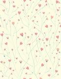 情人节设计的传染媒介无缝的样式 免版税图库摄影
