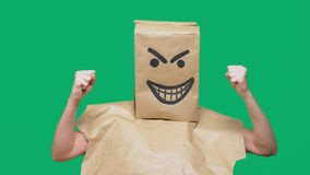 情感,姿态的概念  免版税库存照片
