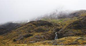 惊人山在斯诺登山,威尔士,英国 免版税库存图片