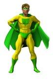 惊人的例证超级英雄 库存照片