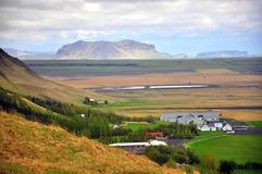 惊人的冰岛风景 免版税库存照片