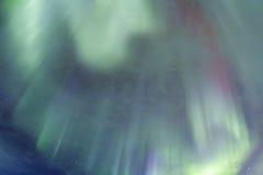 惊人的北极光在冰岛 免版税库存照片