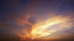 惊人的天空 库存图片