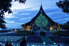 惊人的寺庙 图库摄影