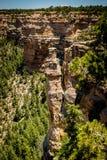 惊人的岩层大峡谷AZ 免版税库存图片